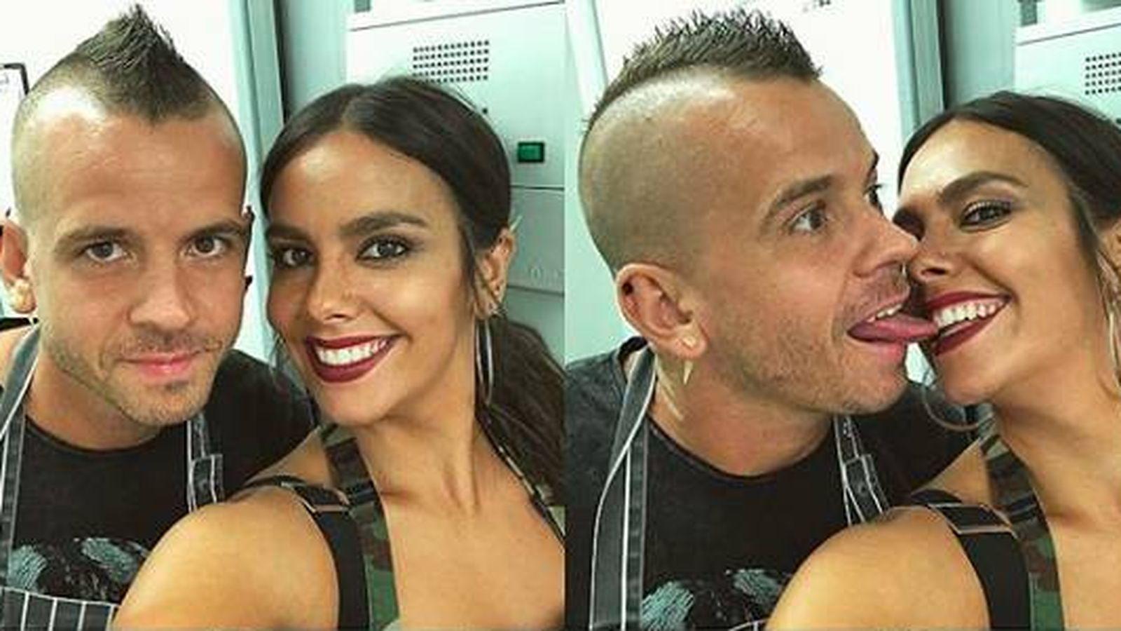 Foto: La pareja en una foto de redes. (Instagram @cristipedroche)