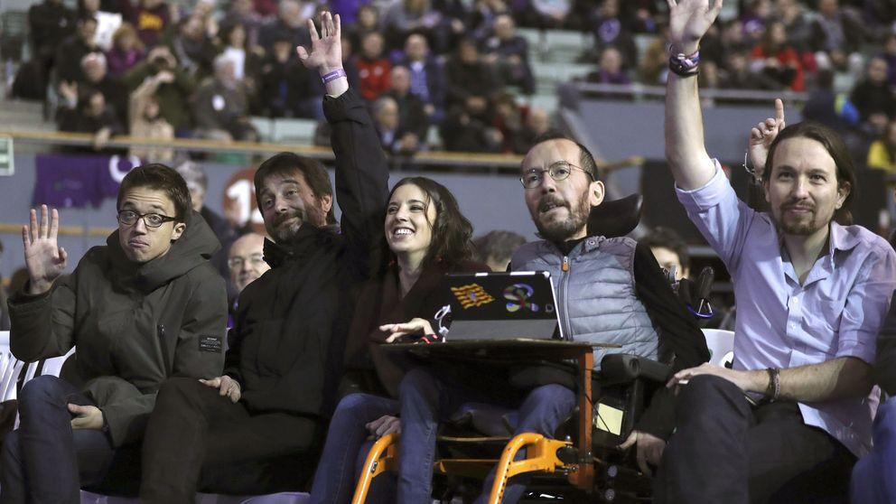 Las bases de Podemos censuran a la cúpula dirigente