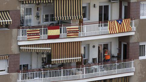 Dime cuántas esteladas hay en tu edificio y te diré en que barrio de Barcelona vives