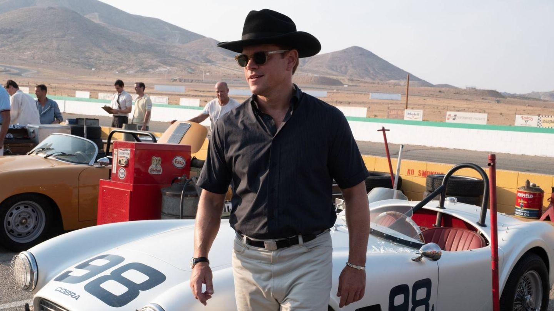 Matt Damon en otro momento de 'Le Mans '66'. (Fox)