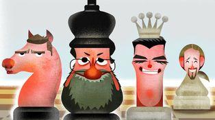 Rajoy pone a la reina en el centro del tablero