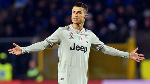El estrés de un cabizbajo Cristiano Ronaldo en su peor momento con la Juventus