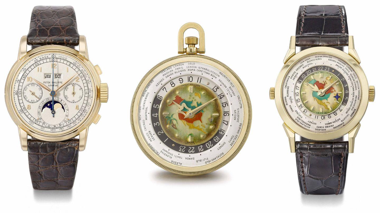Relojes lunares de Patek Philippe. (EFE)