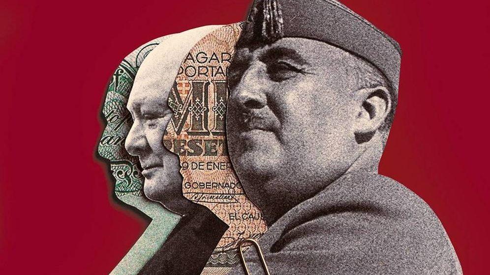 Foto: Detalle de 'Sobornos', de Ángel Viñas