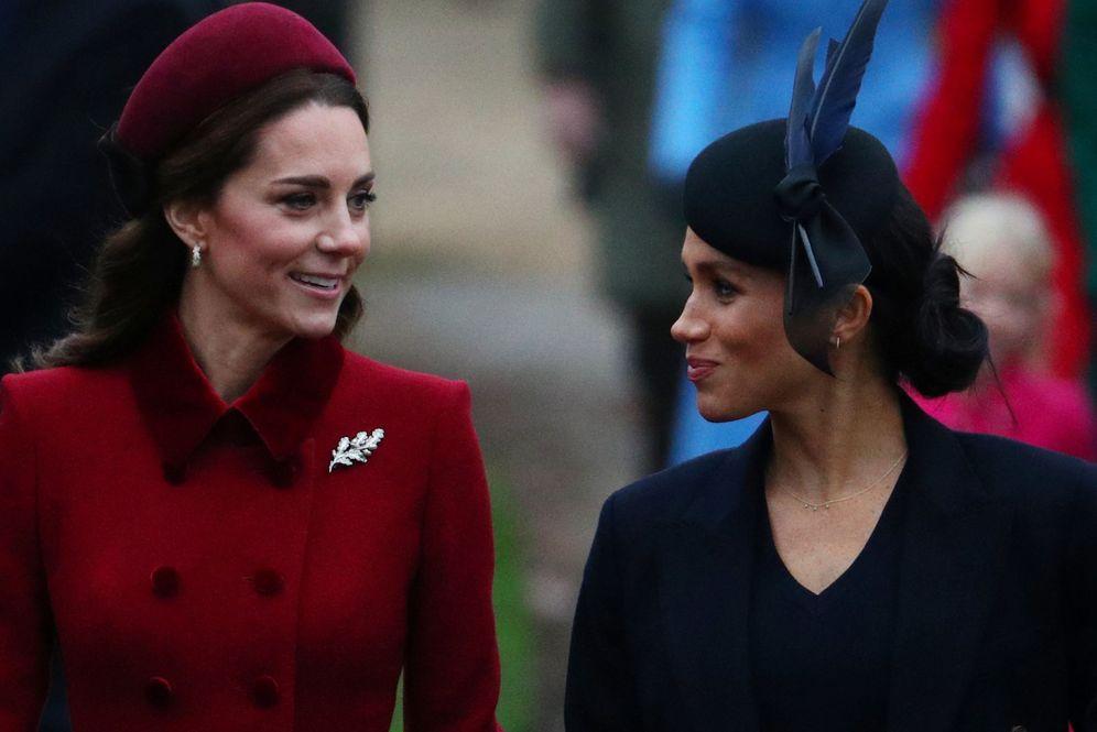 Foto: Kate y Meghan. (Reuters)