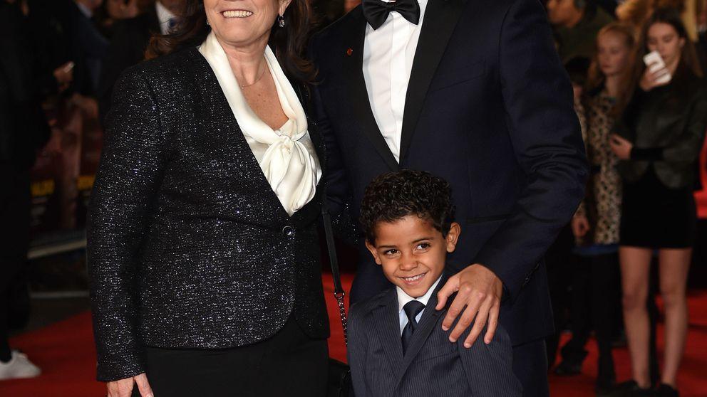 Cristiano Ronaldo, recibido como una estrella de Hollywood en la presentación de su documental