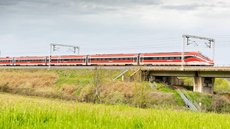 Los Bombardier de Trenitalia comenzarán a operar en España en enero de 2022.