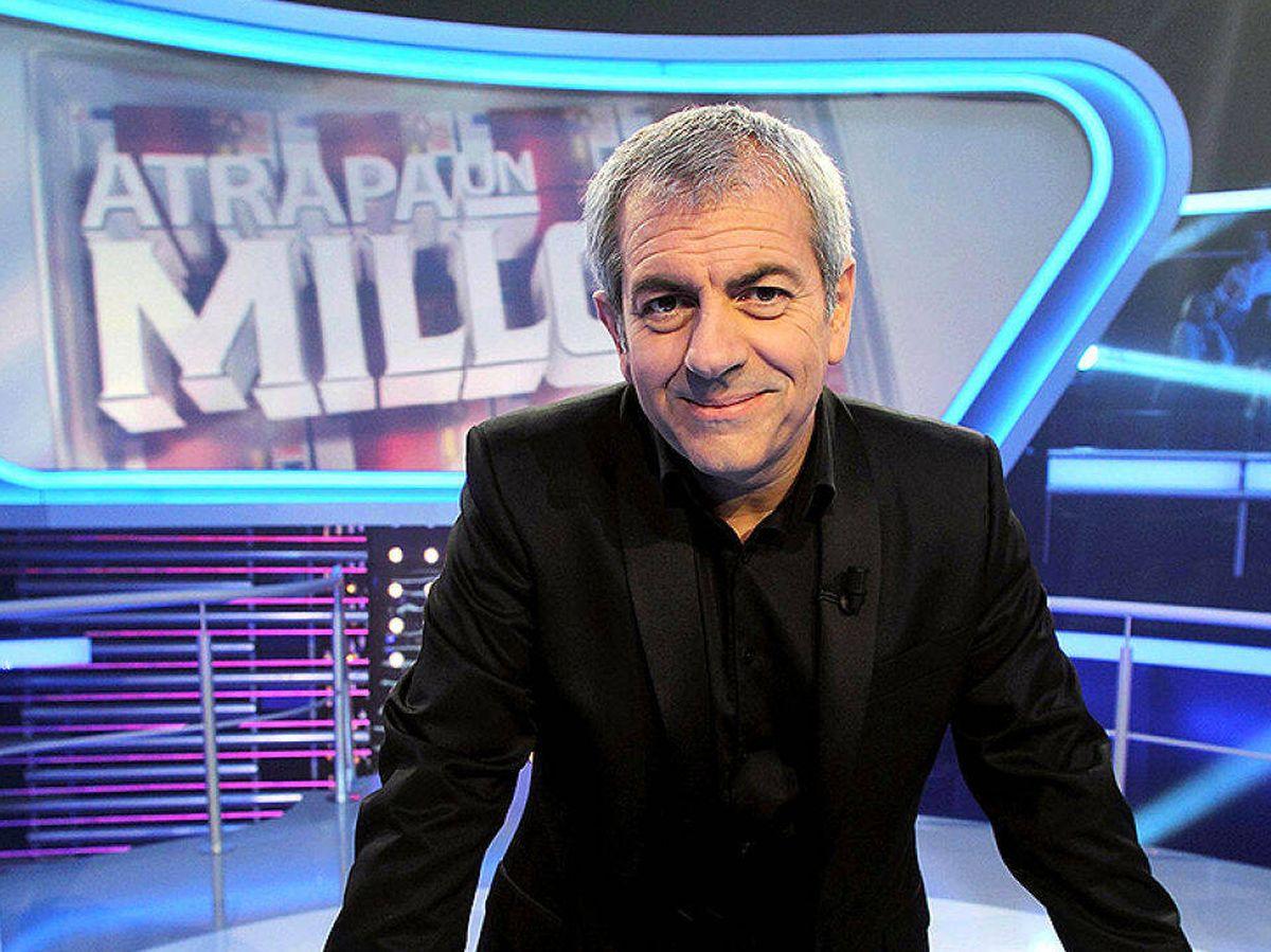 Foto: Carlos Sobera en 'Atrapa un millón'. (Atresmedia)