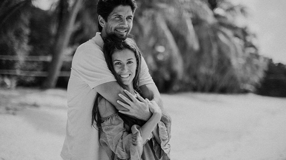 Foto:  Verdasco y Ana, en una imagen de Instagram.