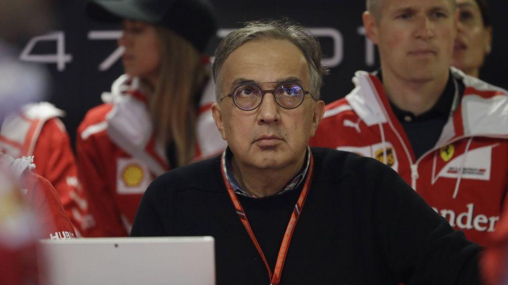 Foto: Sergio Marchionne, durante una prueba del pasado Mundial de F1. (Reuters)