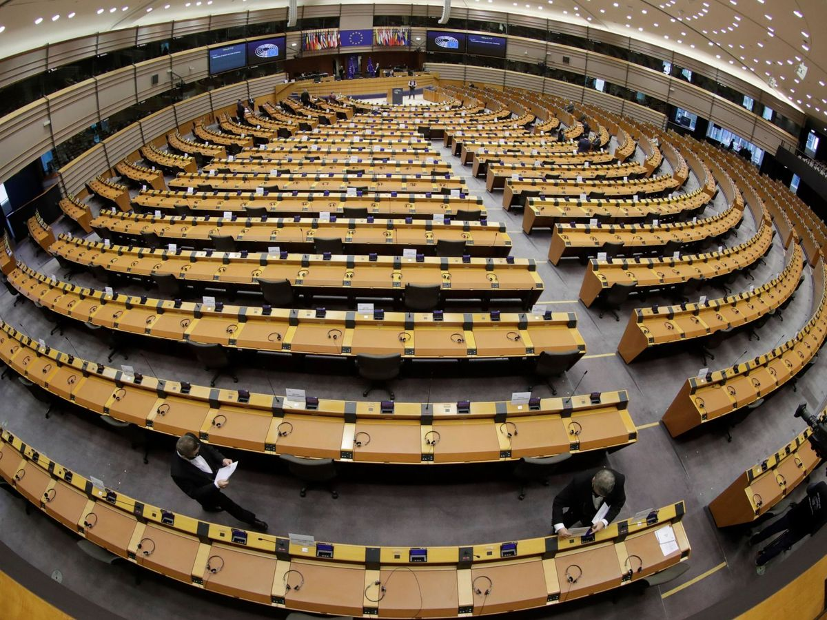 Foto: Pleno del Parlamento Europeo. (EFE)