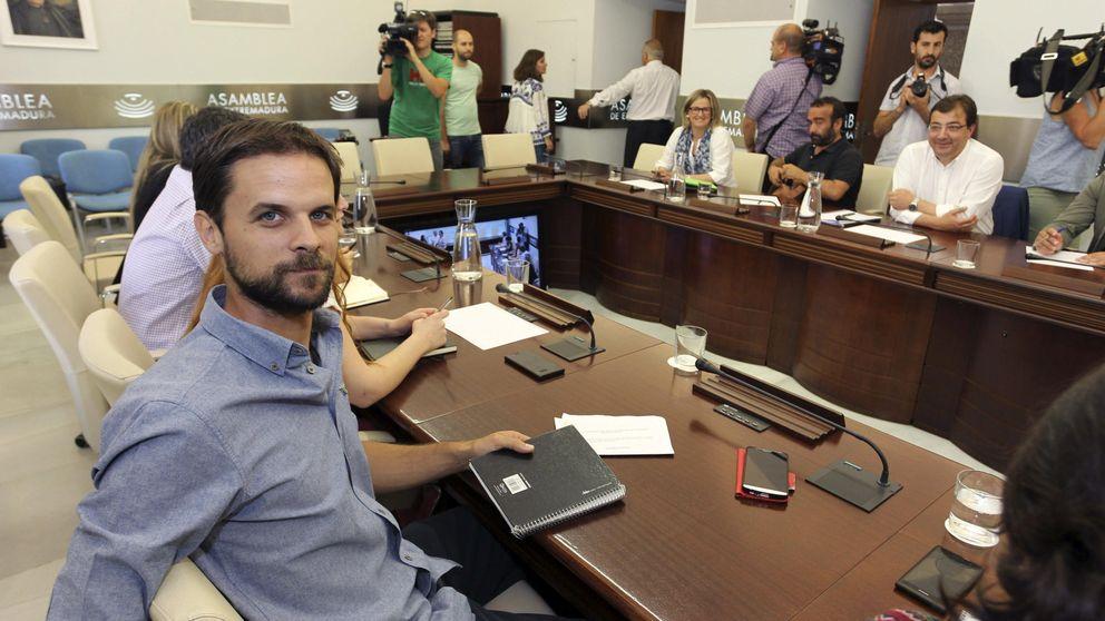 Diputados de Podemos en Extremadura no tienen bienes y apenas dinero