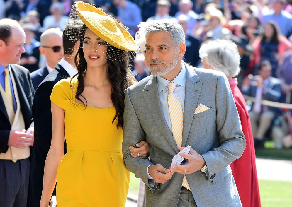 Foto: La pareja en la boda real. (Reuters)