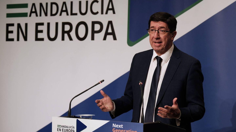 El vicepresidente de la Junta de Andalucía, Juan Marín. (EFE)