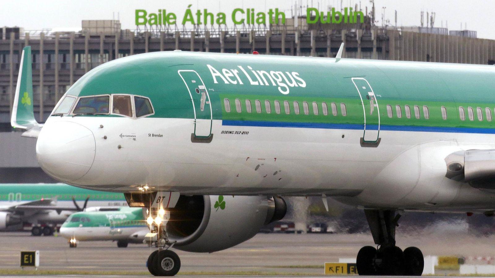 Foto: Imagen de archivo de un avion de Aer Lingus. (Reuters)