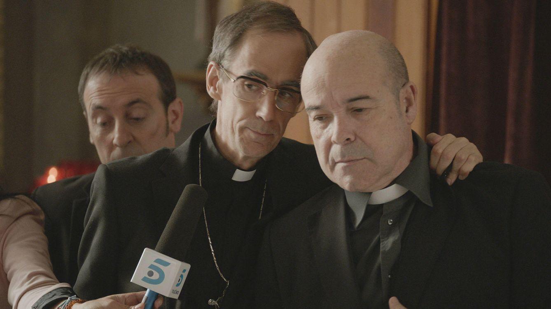 Foto: Escena de 'Aquí paz y después gloria' (Telecinco)