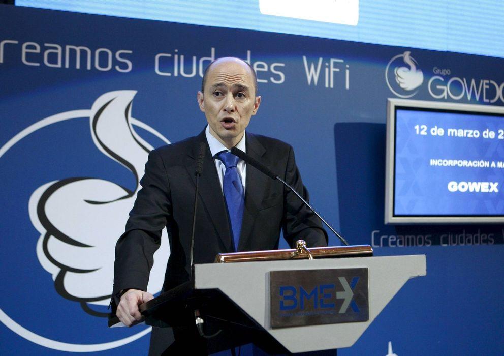 Foto: Jenaro García, presidente y consejero delegado de Gowex.