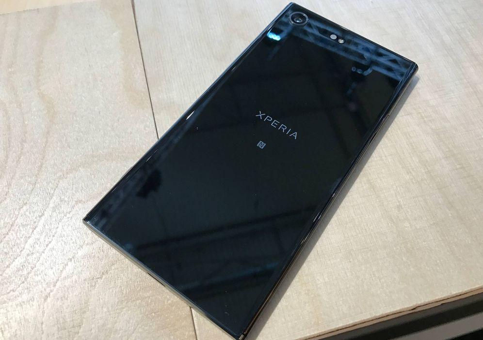 Foto: El nuevo móvil de Sony, el Xperia XZ Premium. (Foto: MAM)