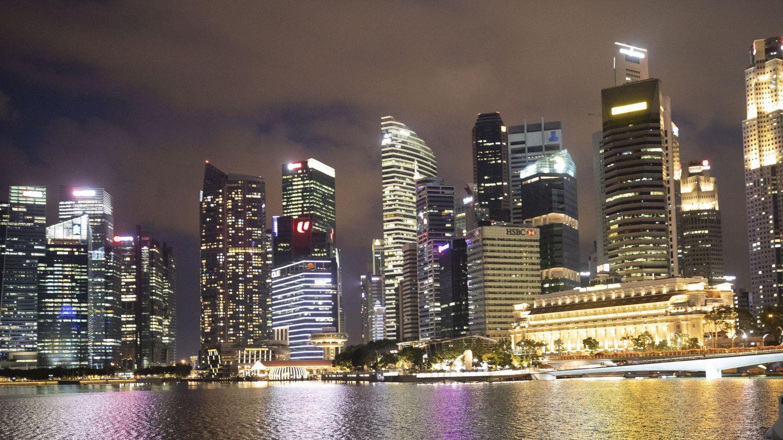 Foto de archivo del distrito financiero de Singapur. (Reuters)