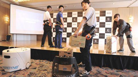 Japón usará exoesqueletos robóticos para cargar maletas en el aeropuerto