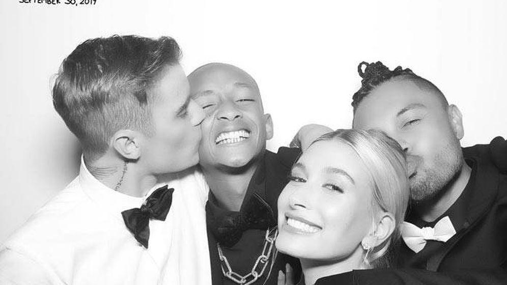 Foto: Justin, Hailey & Friends. (Instagram @alfredoflores)