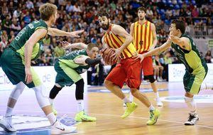 El Barcelona ve la luz en Málaga gracias a un triple de Brad Oleson