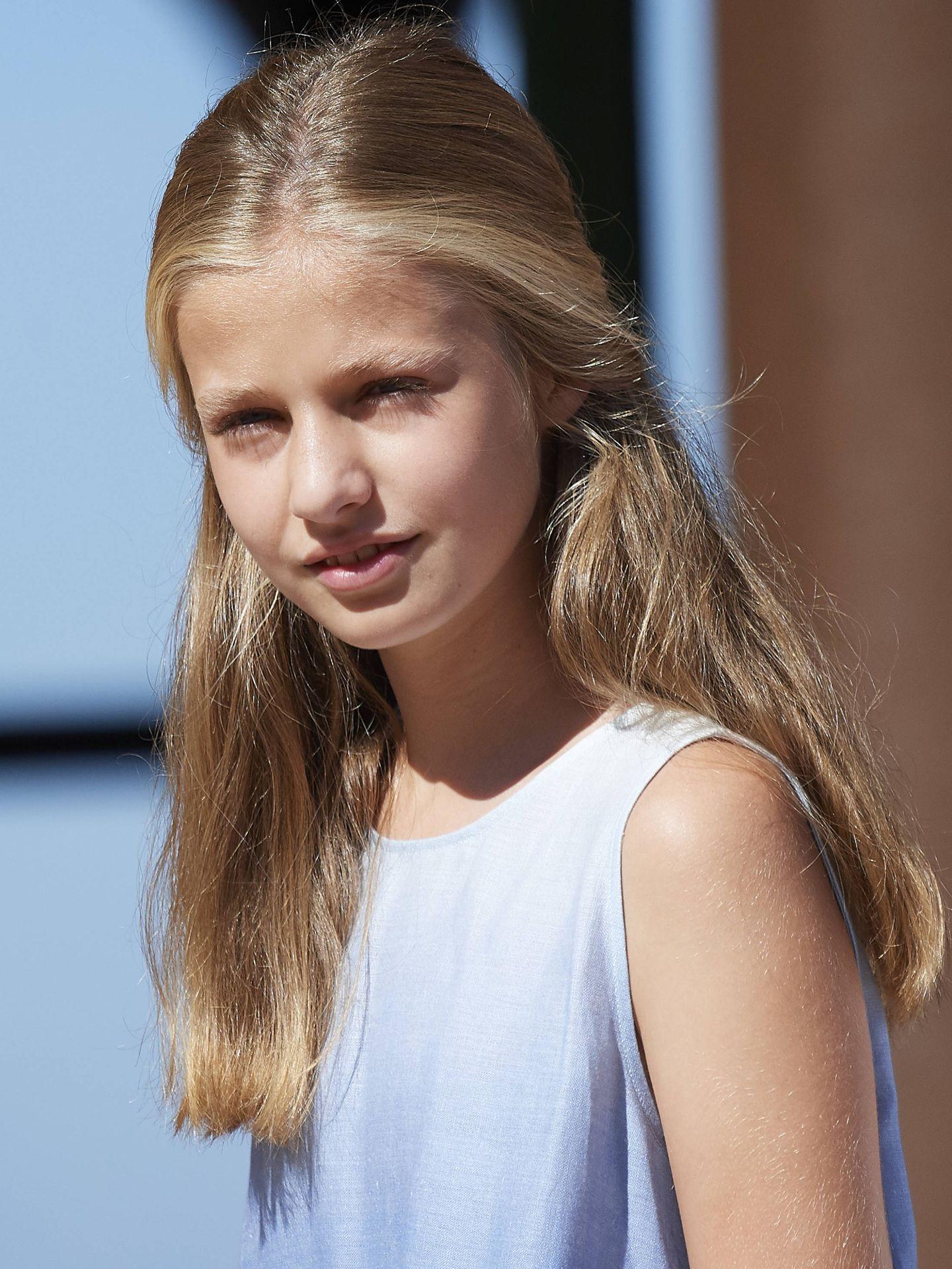 La princesa Leonor, con un modelo de lo más 'trendy' (Getty Images)