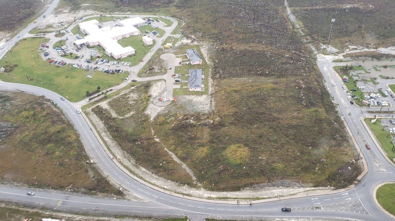 Imagen aérea de Bahamas tras el paso de Dorian. (Reuters)