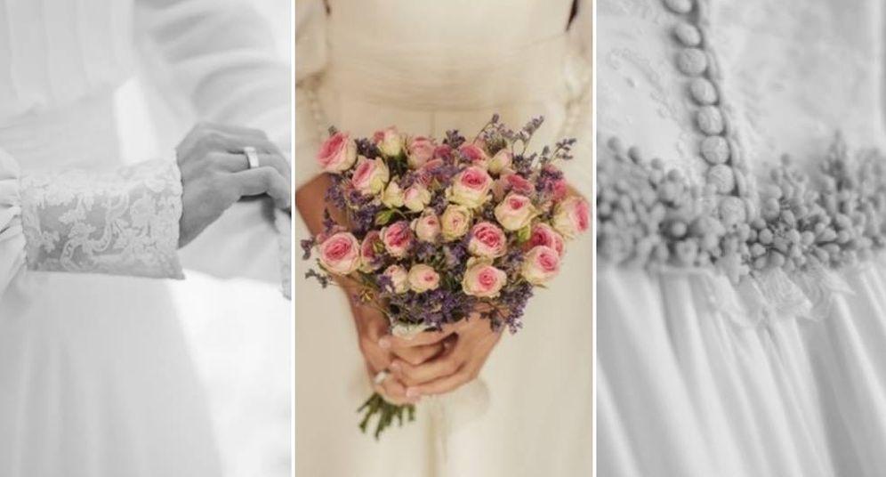 Foto: Detalles de las novias de Teresa Palazuelo. (Instagram)