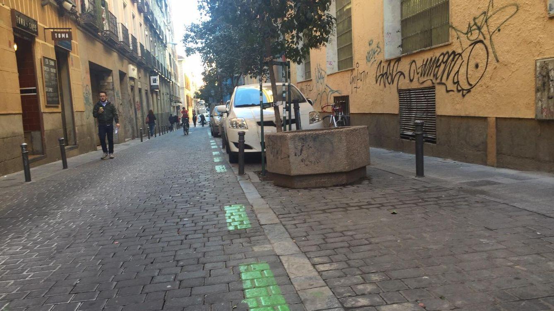 Foto: Madrid, contaminada y con menos coches aparcados