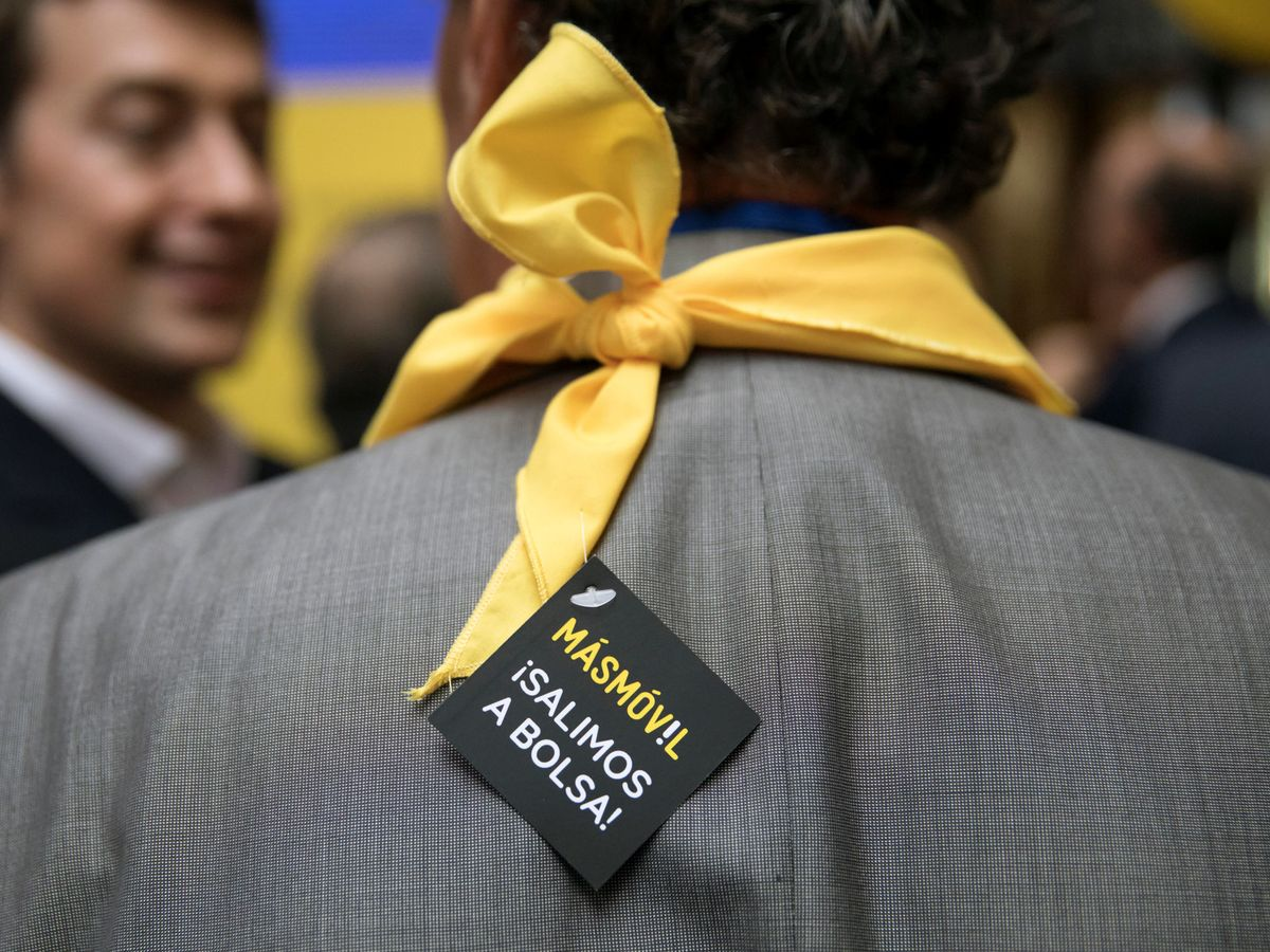 Foto: Salida a Bolsa de MásMóvil (Reuters)