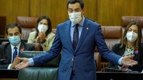 Moreno garantiza que agotará la legislatura y no habrá andaluzas hasta 2022