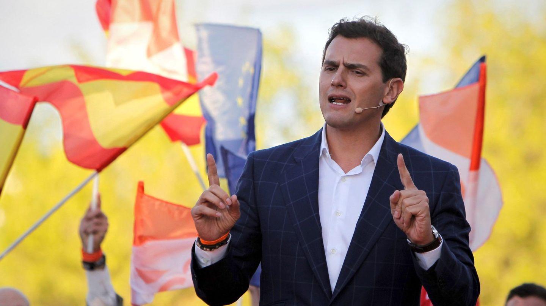 Albert Rivera, en plena campaña electoral. (EFE)