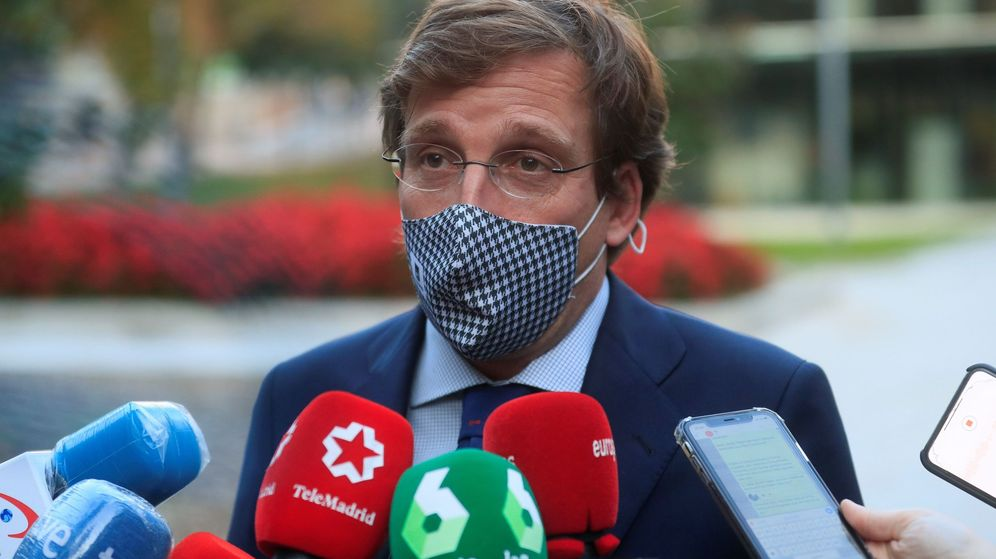 Foto: El alcalde de Madrid, José Luis Martínez Almeida. (EFE)