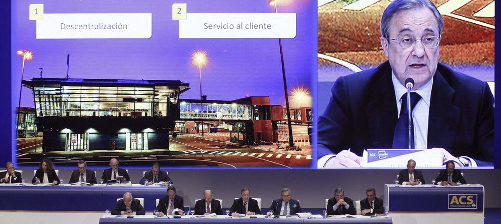 Foto: Intervención del presidente de ACS, Florentino Pérez (EFE)