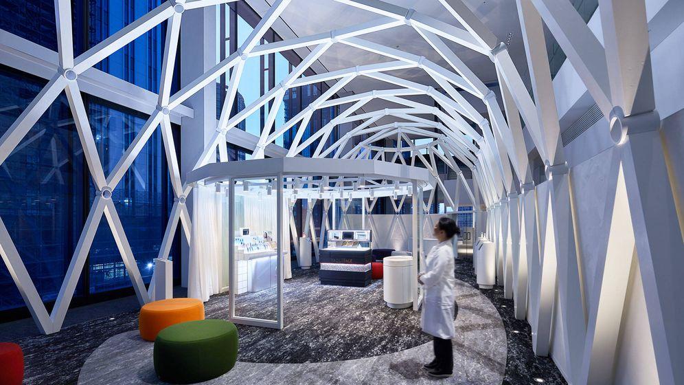Foto: Una de las áreas del nuevo centro de innovación global en Yokohama. (Japón)