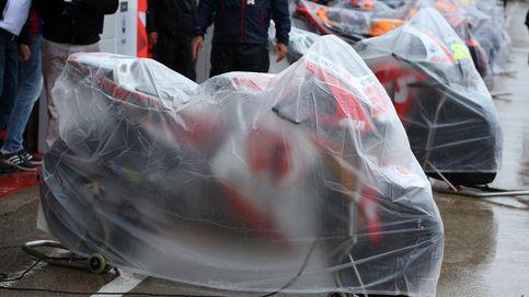 La lluvia obliga a suspender el Gran Premio de Gran Bretaña en Silverstone