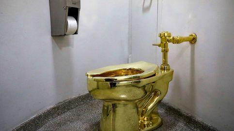 Trump pide un Van Gogh al Guggenheim... y el museo le ofrece un váter de oro