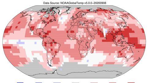 Este verano ha sido el más caluroso de la historia para el hemisferio norte