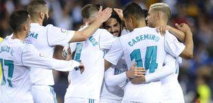 Post de Málaga vs Real Madrid en directo: gol de Casemiro tras una gran jugada colectiva