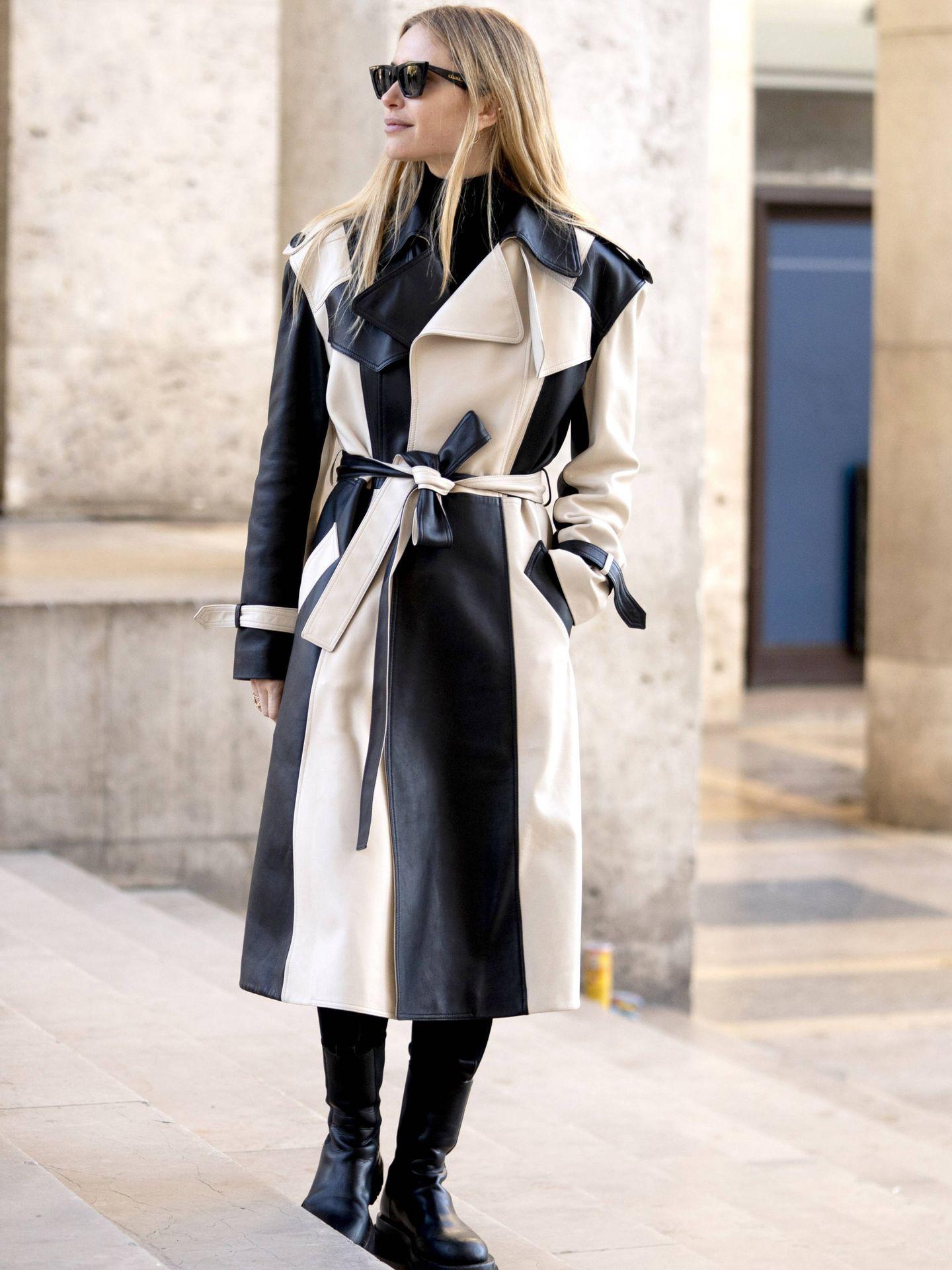 En París también se ven estos abrigos. (Imaxtree)
