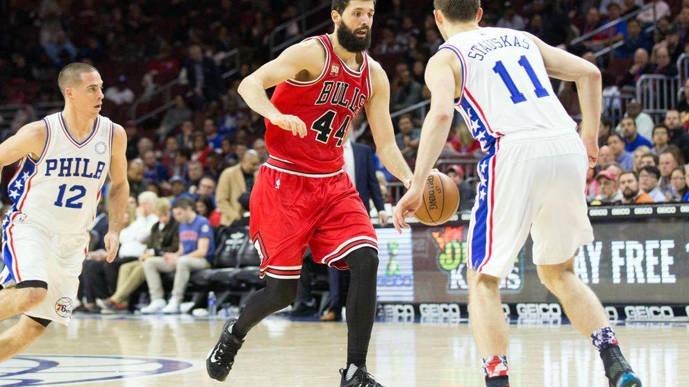 Un espectacular 'doble-doble' de Nikola Mirotic hunde al peor equipo de la NBA