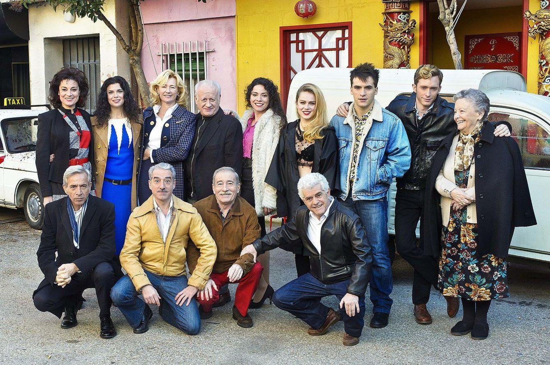 Foto: El reparto de 'Cuéntame cómo pasó'