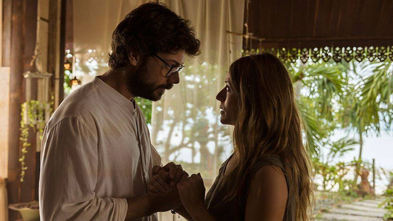 El Profesor (Álvaro Morte) y Raquel Murillo (Itziar Ituño). (Netflix)