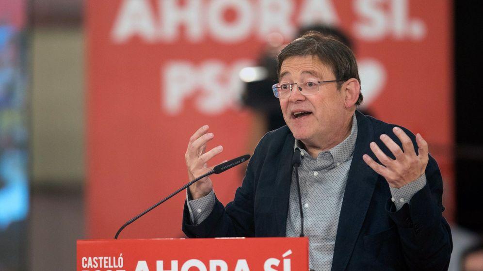 Foto: El presidente de la Generalitat valenciana, Ximo Puig. (EFE)