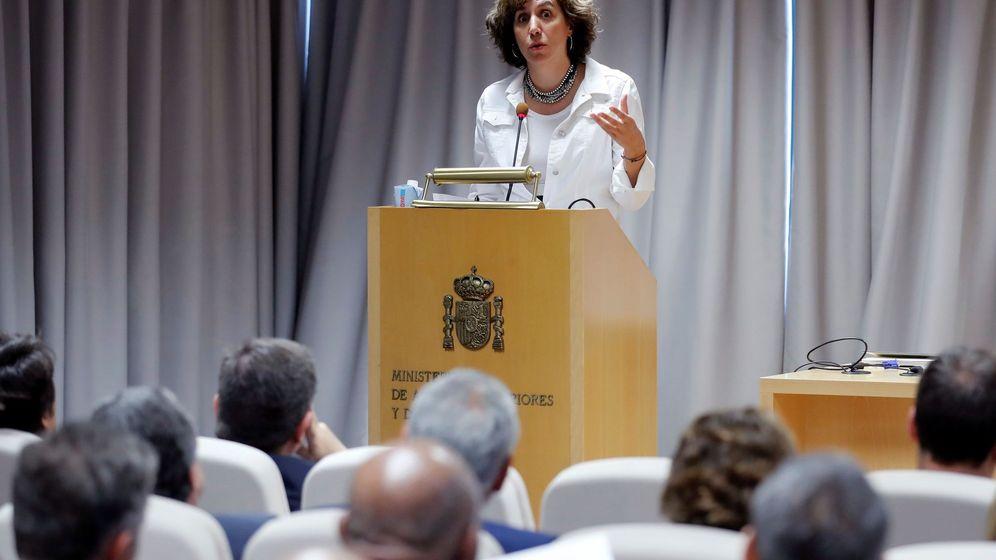 Foto: La secretaria de Estado para la España Global, Irene Lozano. (EFE)