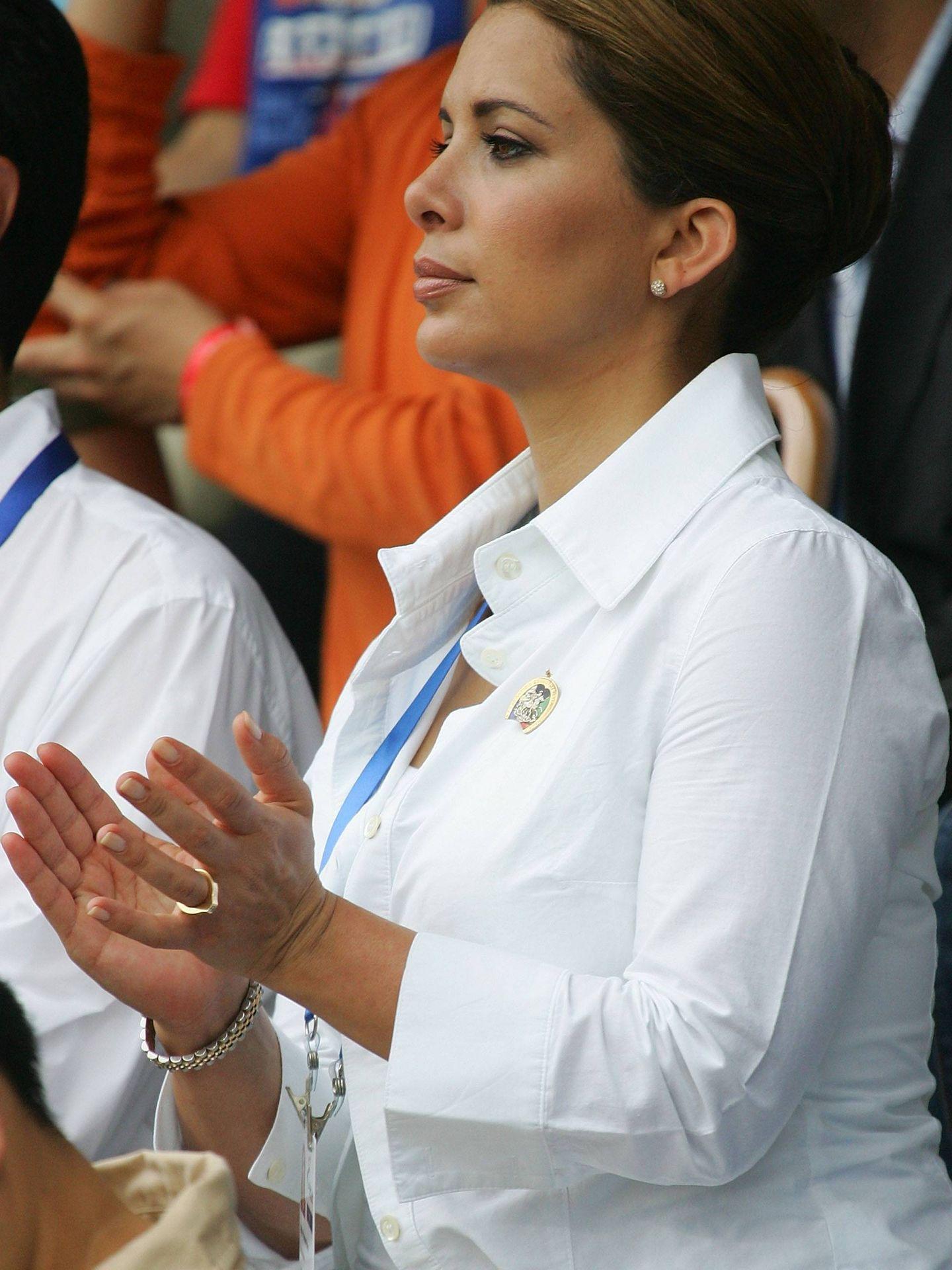 La princesa Haya, en los Juegos Olímpicos de Beijing. (Getty)