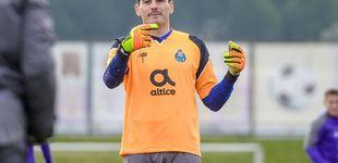 Post de Iker Casillas, a los dos meses de su infarto, acude al entrenamiento con el Oporto