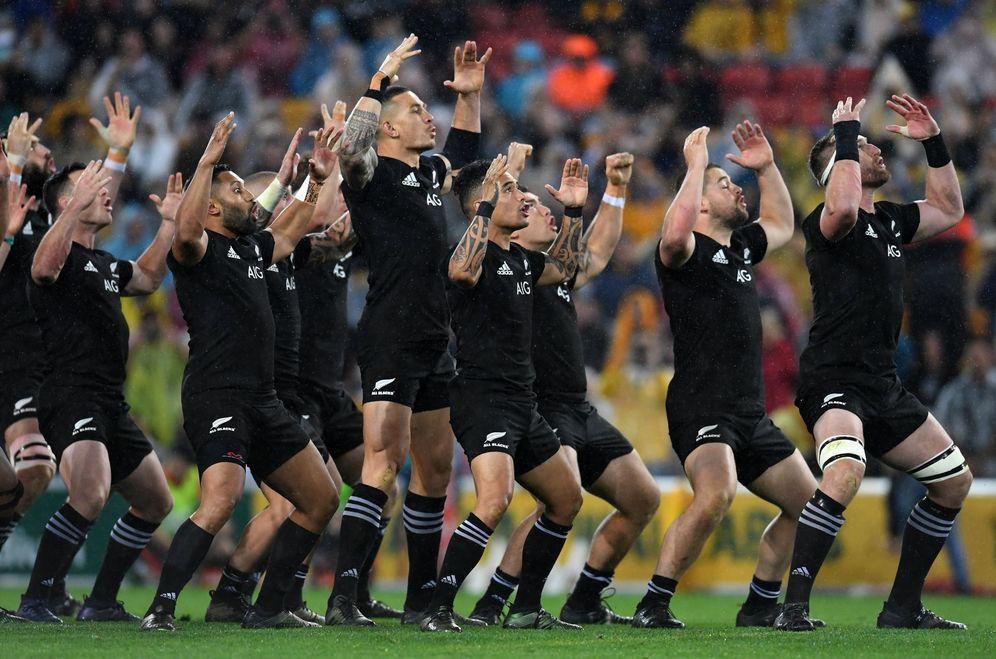 Foto: Imagen de los All Blacks de Nueva Zelanda. (EFE)