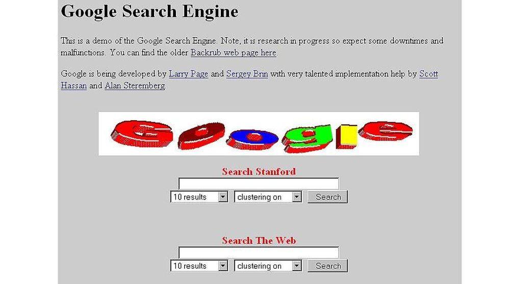Google, Facebook, Yahoo: la evolución en el tiempo de las webs más usadas del mundo